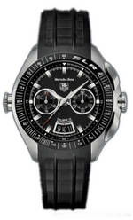 часы TAG Heuer Mercedes-Benz SLR (SS / Black / Rubber)