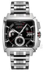 часы TAG Heuer MONACO LS Chronograph Calibre 12 Steel Bracelet