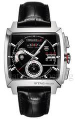 часы TAG Heuer MONACO LS Chronograph Calibre 12 alligator strap