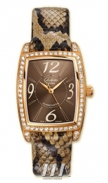 часы Glashutte Original Glashutte Original Lady Serenade Karree (RG_Diamonds Brown Leather)