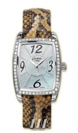 часы Glashutte Original Glashutte Original Lady Serenade Karree (SS_Diamonds MOP Leather)