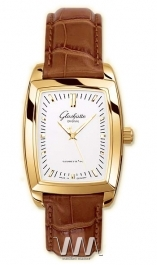 часы Glashutte Original Glashutte Original Lady Serenade Karree (RG Silver Leather)