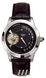 часы Glashutte Original Glashutte Original Tourbillon Regulator (Pt / Black / Leather)