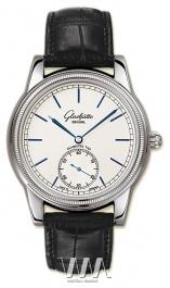 часы Glashutte Original Glashutte Original 1878 Limited Edition (WG / Silver / Leather)