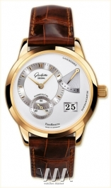 часы Glashutte Original Glashutte Original Panoreserve (RG / Silver / Leather)