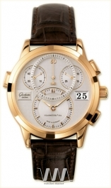 часы Glashutte Original Glashutte Original Panomaticchrono (RG / Silver / Alligator Leather)
