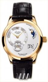 часы Glashutte Original Glashutte Original Panomaticlunar (RG / Silver / Leather)