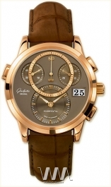 часы Glashutte Original Glashutte Original Panomaticchrono (RG / Mocca / Alligator Leather)
