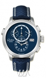 часы Glashutte Original Glashutte Original Panomaticchrono XL (Pt / Black / Leather)