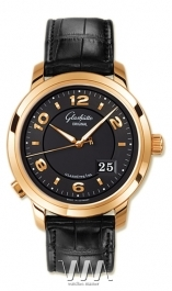 часы Glashutte Original Glashutte Original Panomaticcentral XL (RG / Black / Leather)