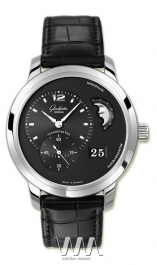 часы Glashutte Original Glashutte Original Panomaticlunar XL (WG / Black / Leather)