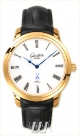 часы Glashutte Original Glashutte Original Senator Meissen (RG / White / Leather)