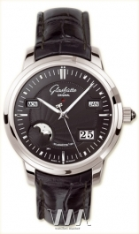 часы Glashutte Original Glashutte Original Senator Perpetual Calendar (Pt / Black / Leather)