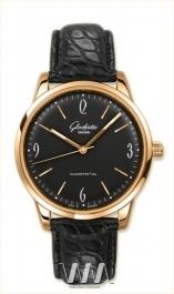 часы Glashutte Original Glashutte Original Senator Sixties (RG / Black / Leather)