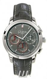 часы Glashutte Original Glashutte Original Senator Chronograph (SS / Grey / Leather)