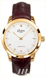 часы Glashutte Original Glashutte Original Senator Automatic (RG / Silver / Leather)