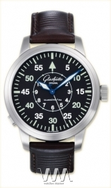 часы Glashutte Original Glashutte Original Senator Navigator Automatic (SS / Black / Leather)