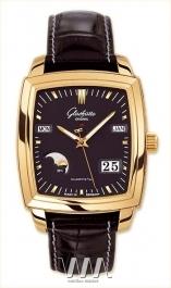 часы Glashutte Original Glashutte Original Senator Karree Perpetual Calendar (RG / Black / Leather)