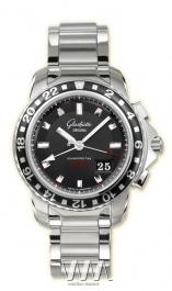 часы Glashutte Original Glashutte Original Sport Evolution GMT (SS / Black / SS)
