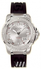 часы Glashutte Original Glashutte Original Sport Evolution Panorama Date (SS / Silver / Rubber)