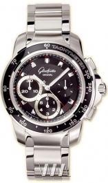 часы Glashutte Original Glashutte Original Sport Evolution Chronograph (SS / Black / SS)