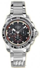 часы Glashutte Original Glashutte Original Sport Evolution Impact Chronograph (SS / Black / SS)