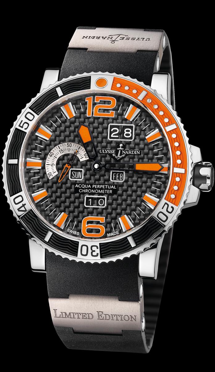 часы Ulysse Nardin Acqua Perpetual Limited Edition