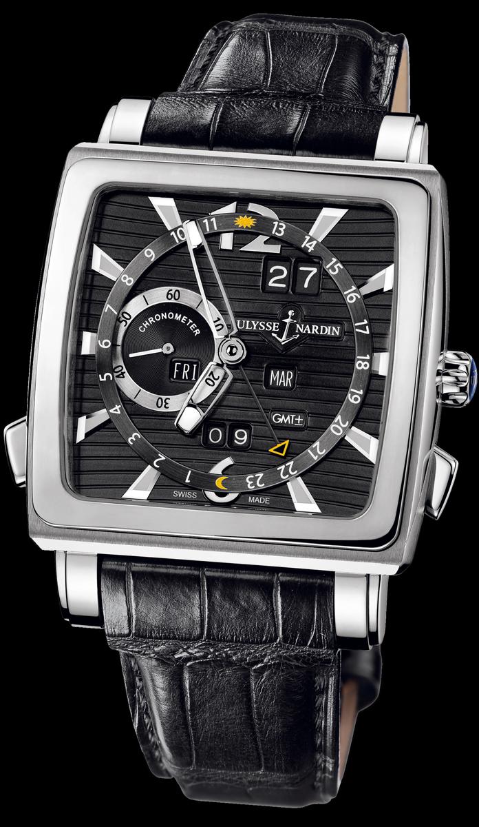 часы Ulysse Nardin Quadrato Dual Time Perpetual