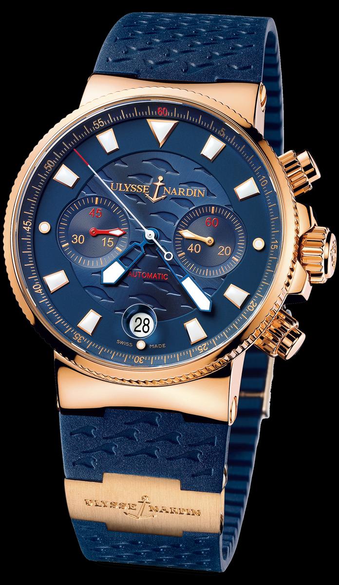 часы Ulysse Nardin Blue Seal (Maxi Marine Chronograph)
