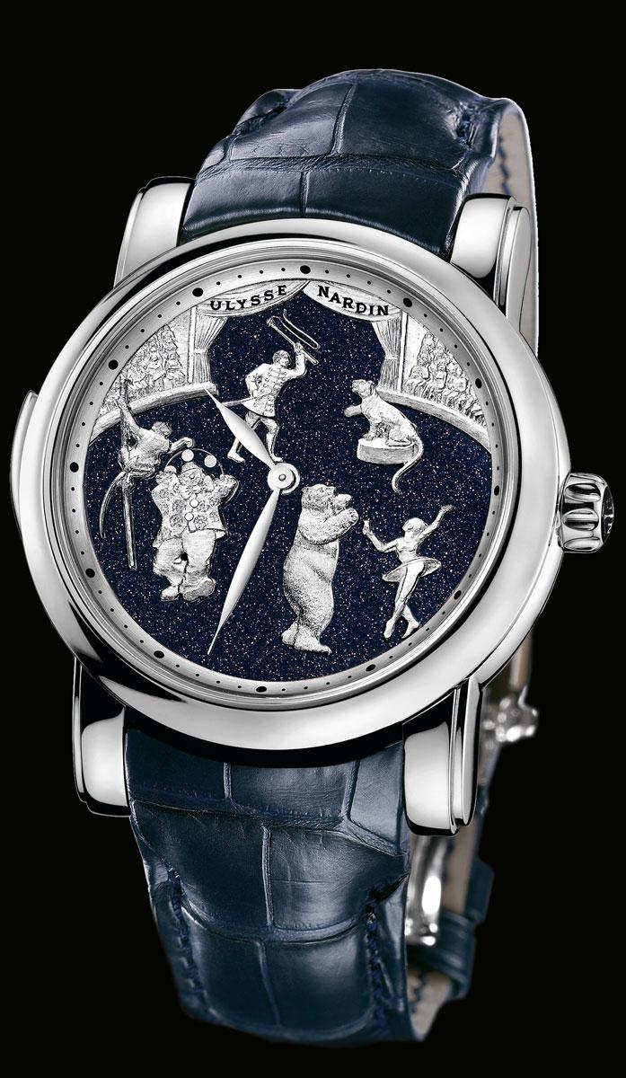 часы Ulysse Nardin Circus Minute Repeater