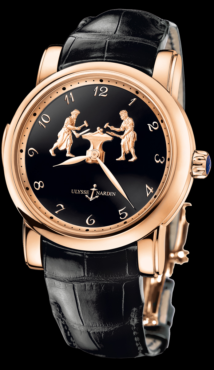 часы Ulysse Nardin Forgerons Minute Repeater