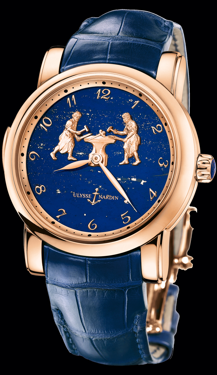���� Ulysse Nardin Forgerons Minute Repeater