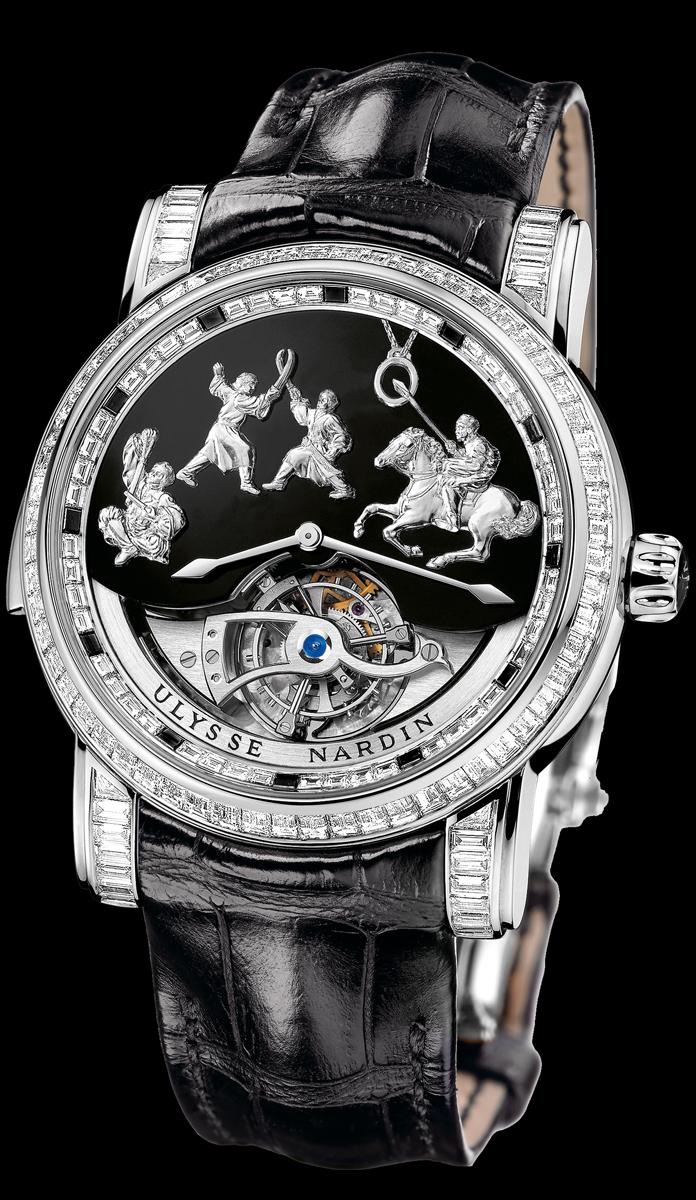 часы Ulysse Nardin Genghis Khan Haute Joaillerie
