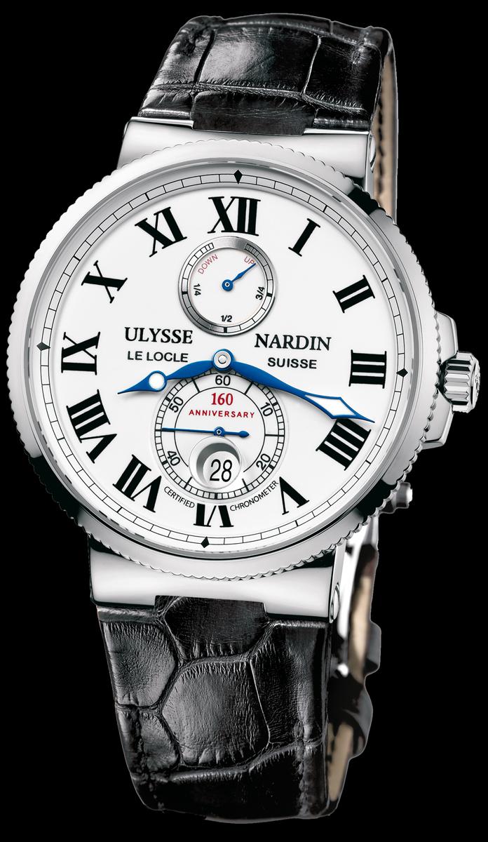 часы Ulysse Nardin Marine Chronometer Anniversary 160