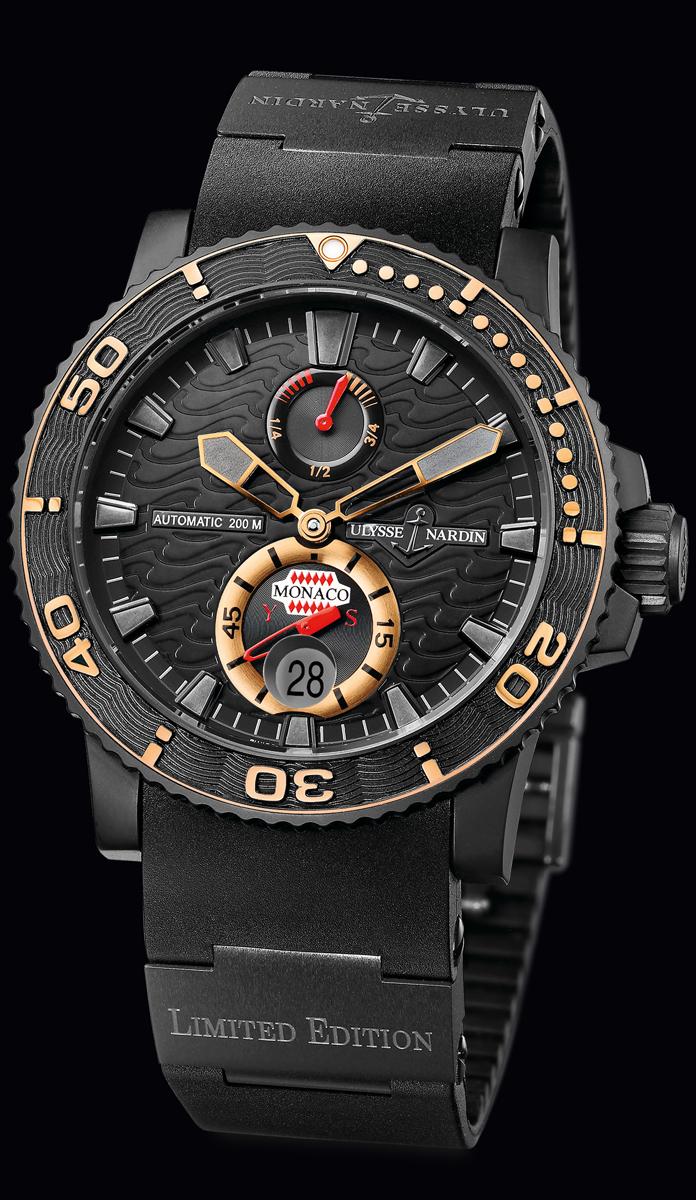 часы Ulysse Nardin Monaco YS Limited Edition