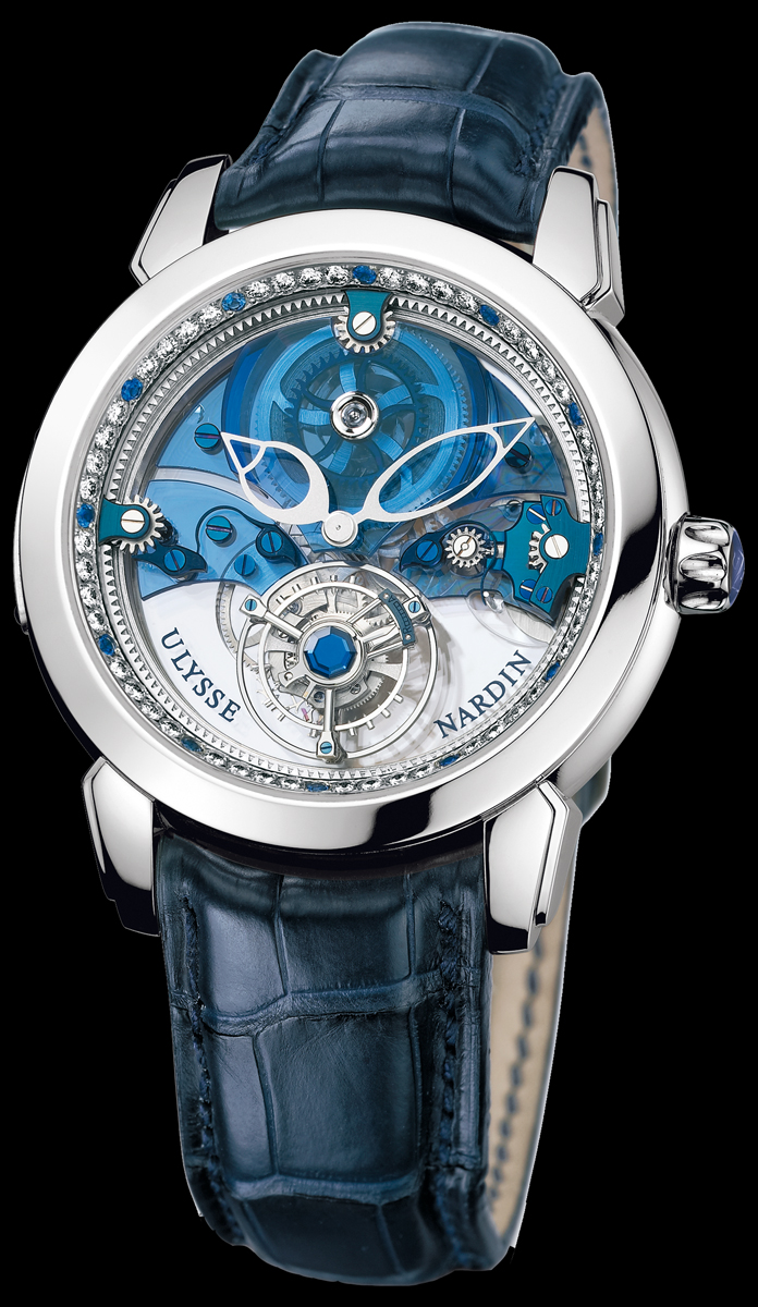 часы Ulysse Nardin Royal Blue Tourbillon
