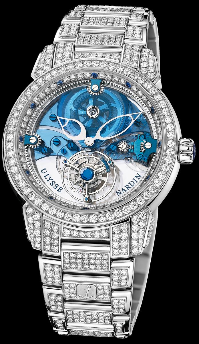 часы Ulysse Nardin Royal Blue Tourbillon