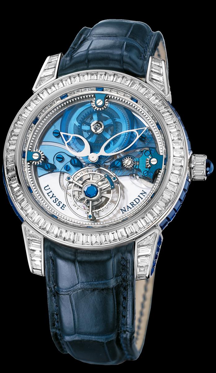 часы Ulysse Nardin Royal Blue Tourbillon Haute Joaillerie