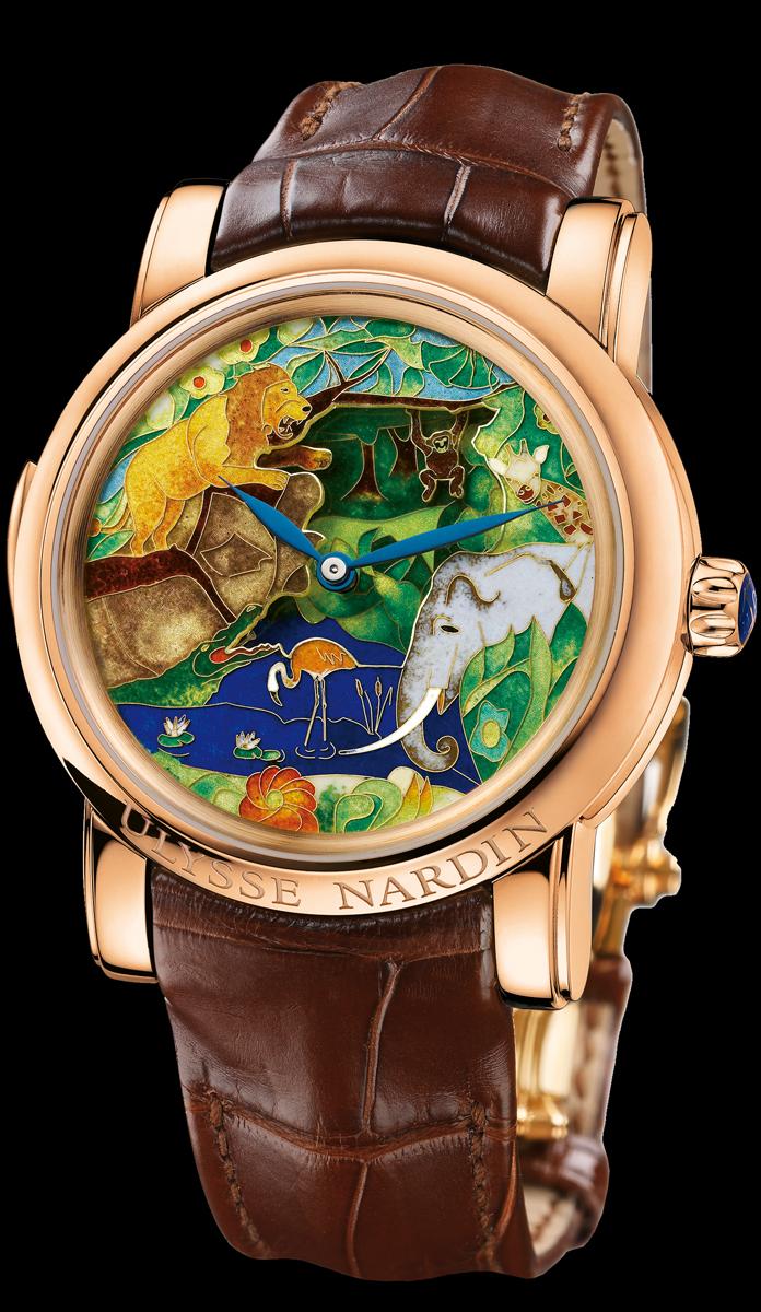 часы Ulysse Nardin Safari Jaquemarts Minute Repeater