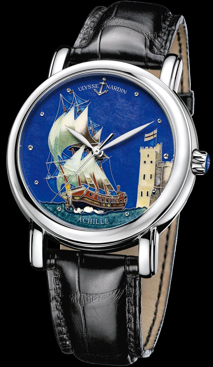 часы Ulysse Nardin San Marco Cloisonné