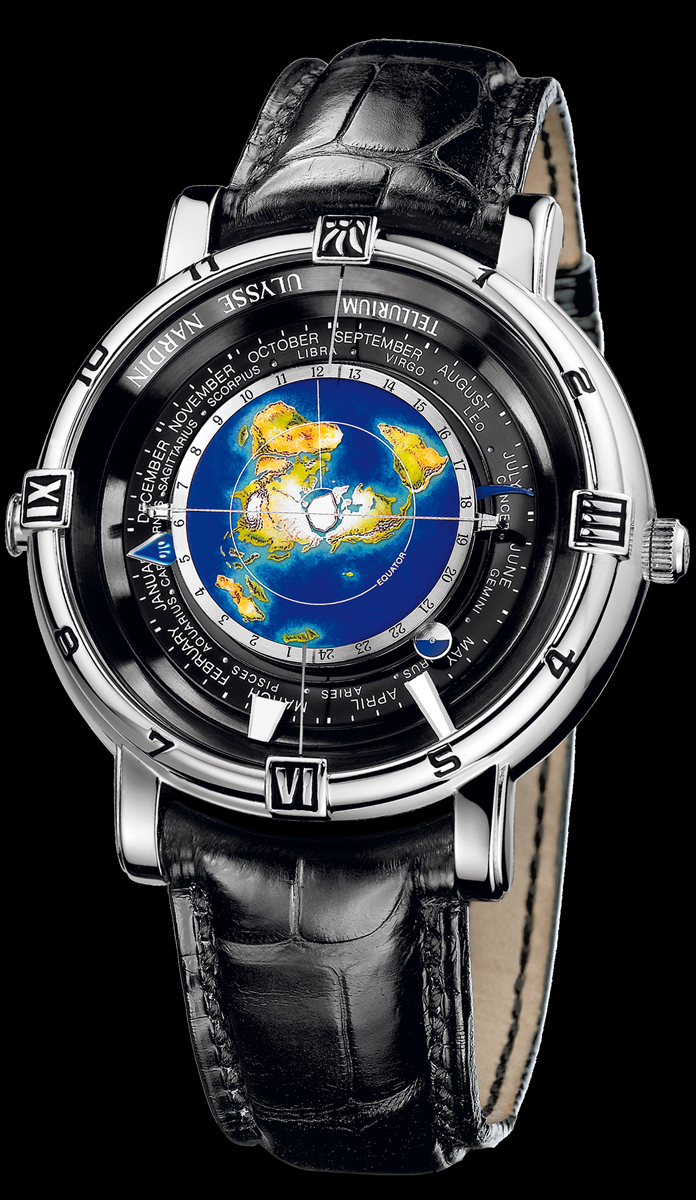 часы Ulysse Nardin Trilogy Set. Tellurium Johannes Kepler