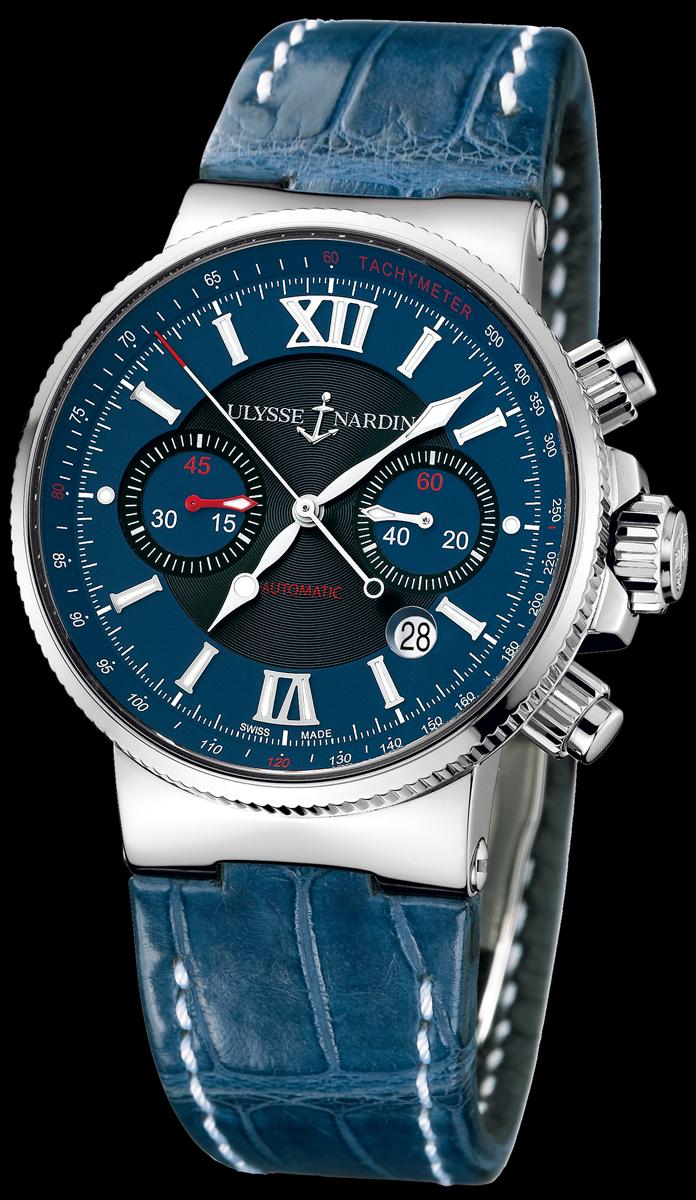 часы Ulysse Nardin Maxi Marine Chronograph