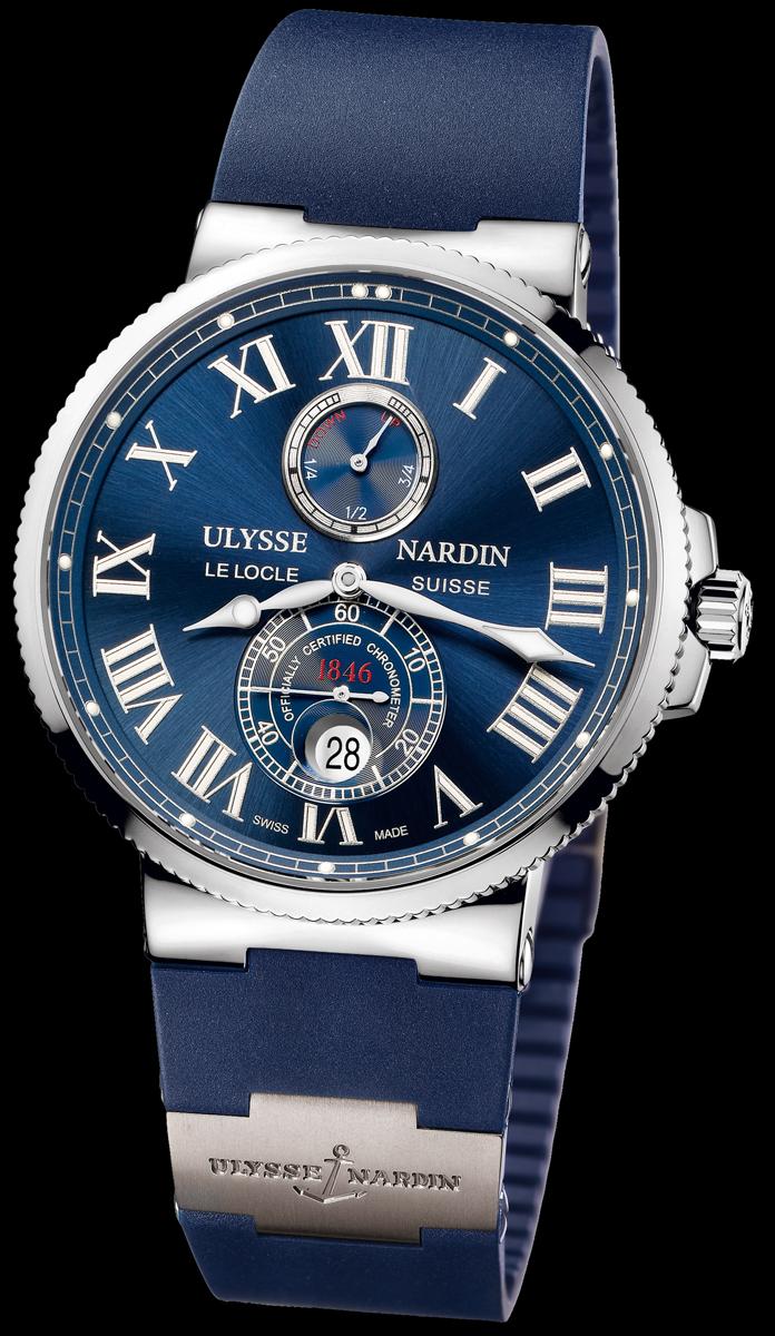 часы Ulysse Nardin Maxi Marine Chronometer 43mm