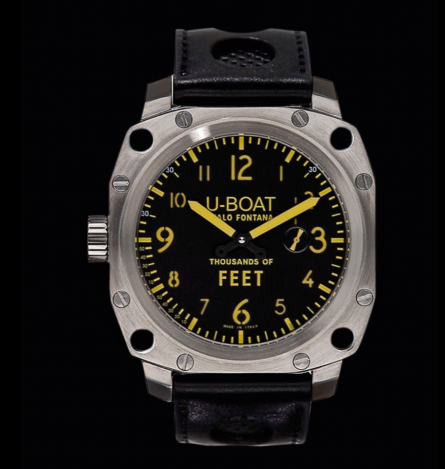 часы U-Boat Thousands of feet MS