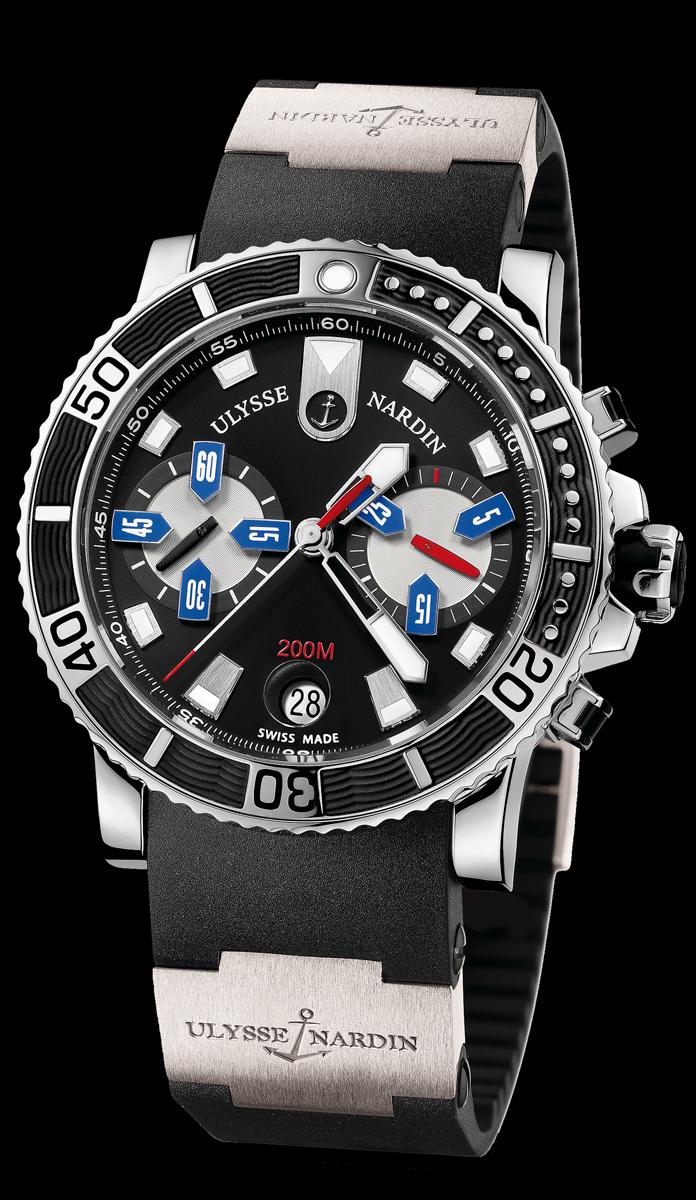 часы Ulysse Nardin Maxi Marine Diver Chronograph