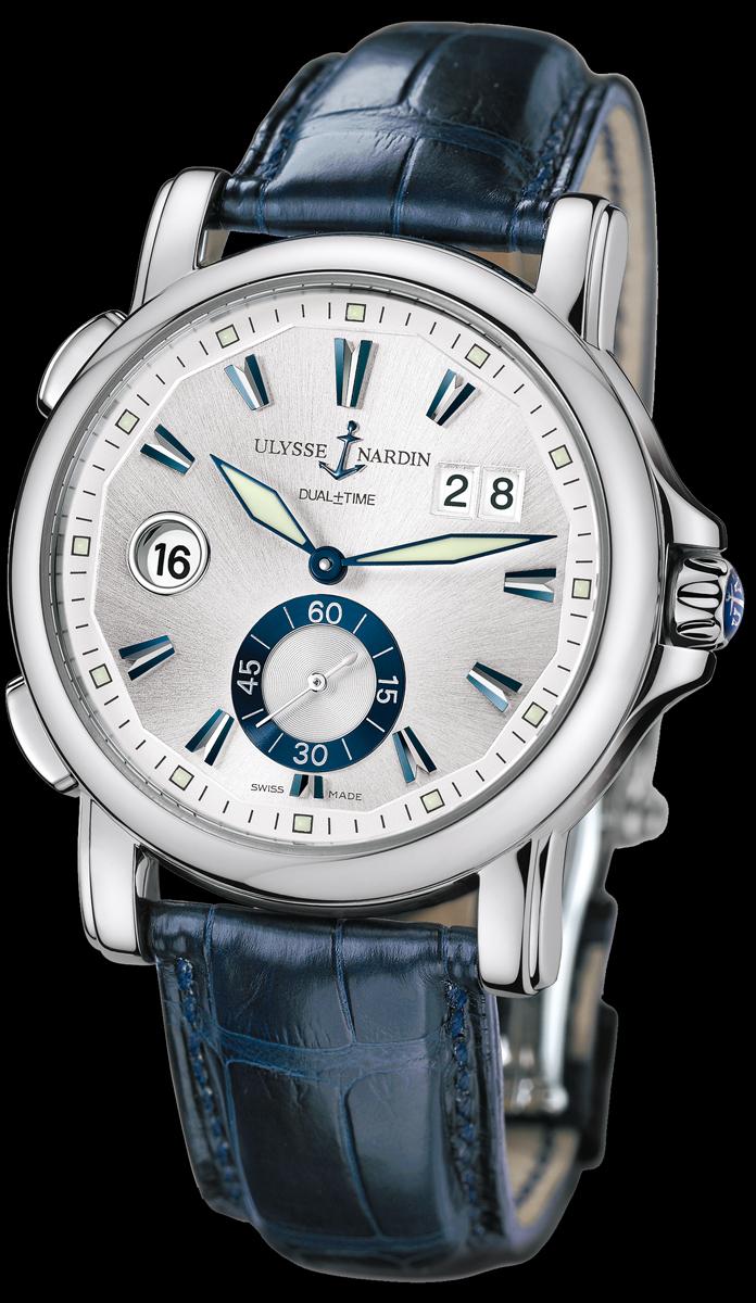 часы Ulysse Nardin Dual Time 42 mm