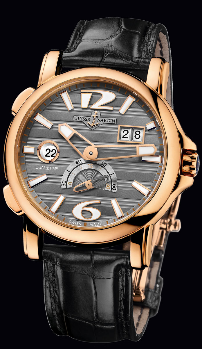 часы Ulysse Nardin Dual Time 42 mm