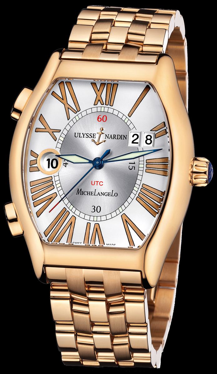 часы Ulysse Nardin Michelangelo Gigante UTC Dual Time