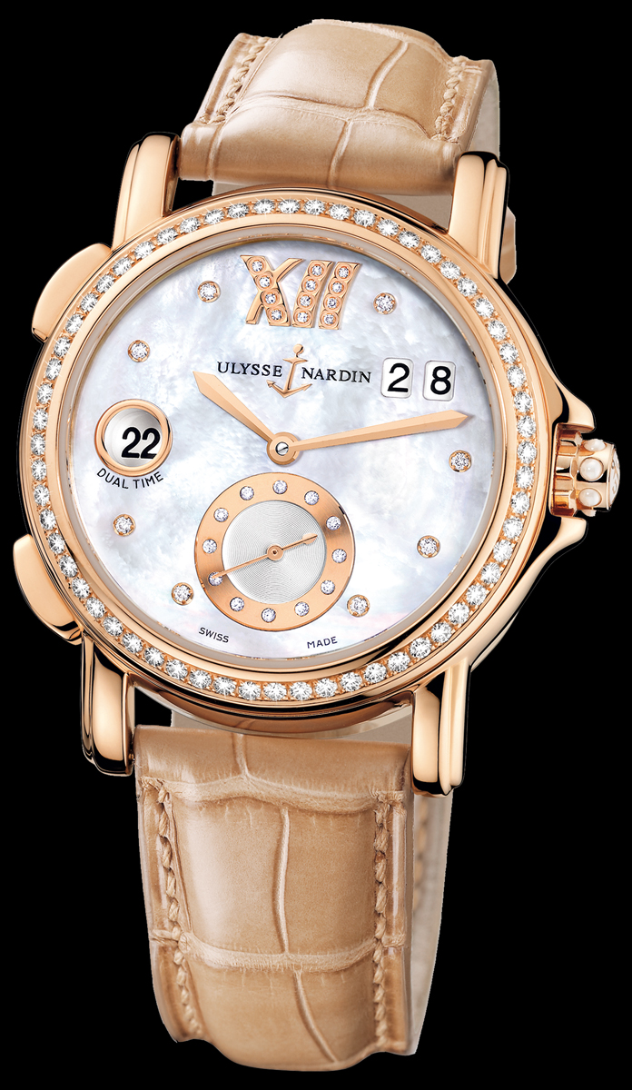 часы Ulysse Nardin Dual Time Ladies