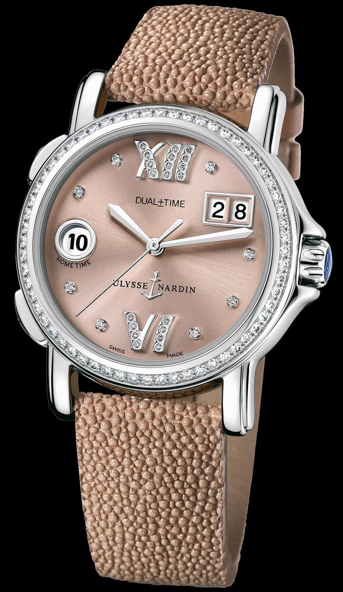часы Ulysse Nardin Dual Time Ladies